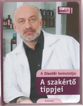 Szabó László hatóanyagszakértő könyve: A szakértő tippjei.