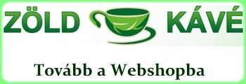 Zöld kávé vásárlási lehetőség-webshop
