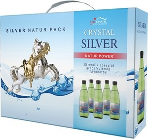 Crystal Silver Natur Pack