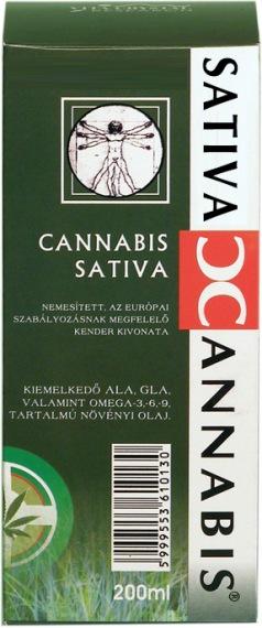 Cannabis Sativa Cannabionoid Oil 200 ml